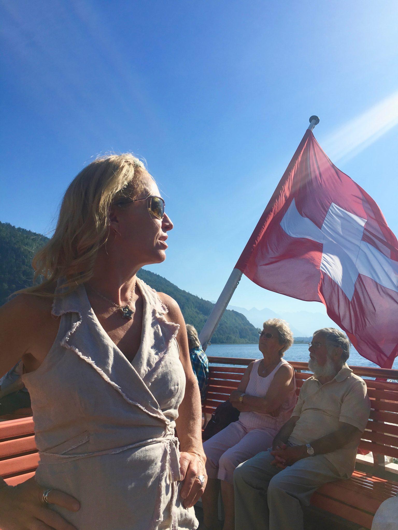 HOMELAND, Diana Pinck, Vierwaldstättersee, 24. August 2016