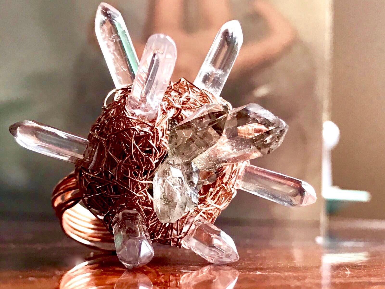 Handgefertigte Ringe von Sheila Western, ISKS Künstlerin 2017