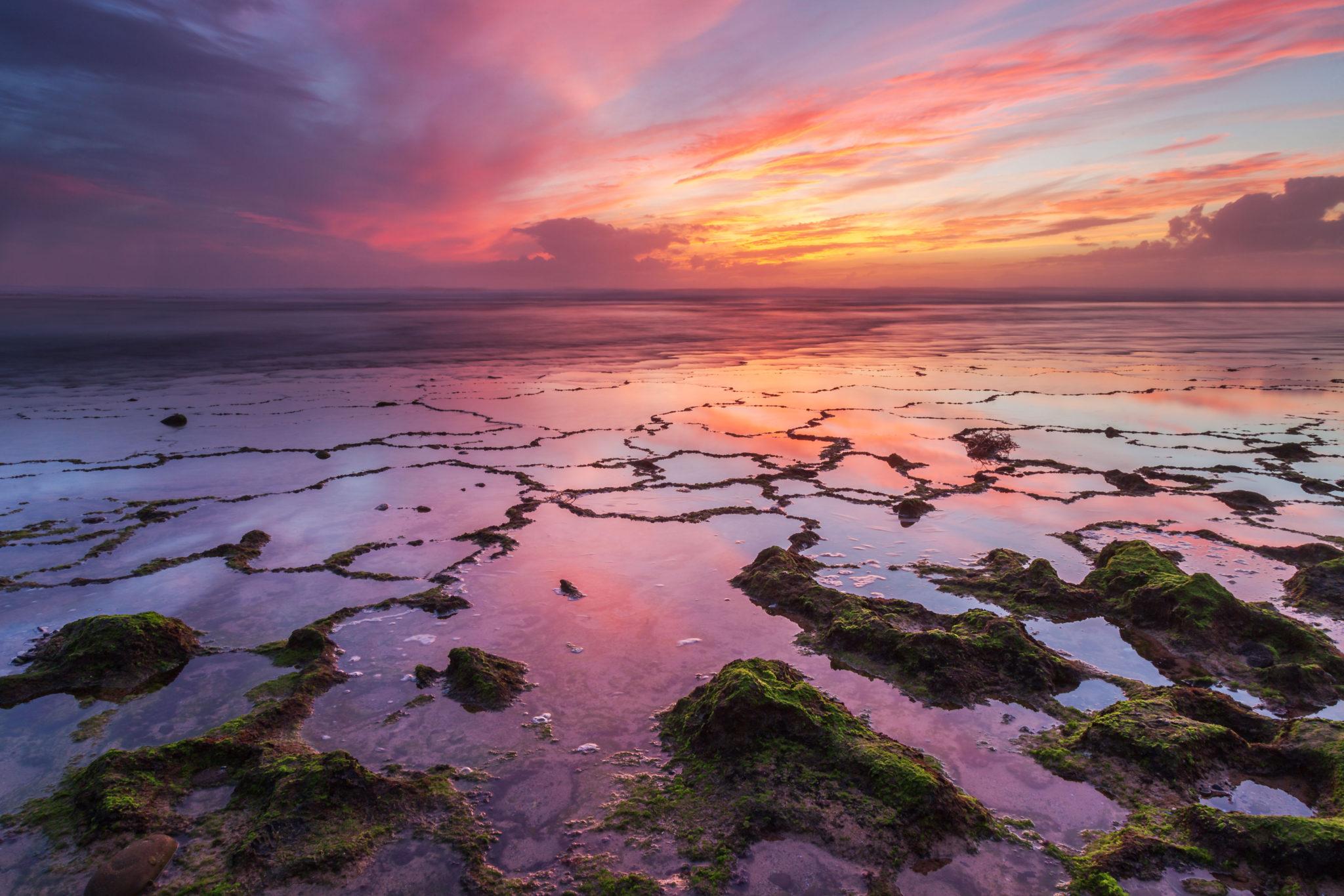 Sunset, Portugal Vilanove-de-Milfontes by Fabio Crudele, ISKS artist 2017